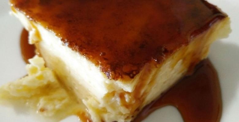 Receta Leche asada con miel de palma - Argodey Fortaleza