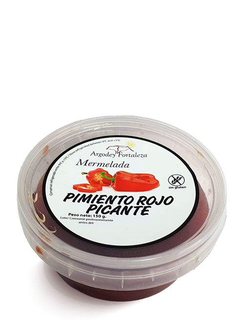 Argodey Fortaleza - Mermelada de Pimiento Rojo Picante