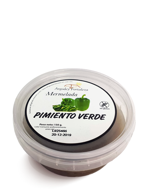Argodey Fortaleza - Mermelada de Pimiento Verde